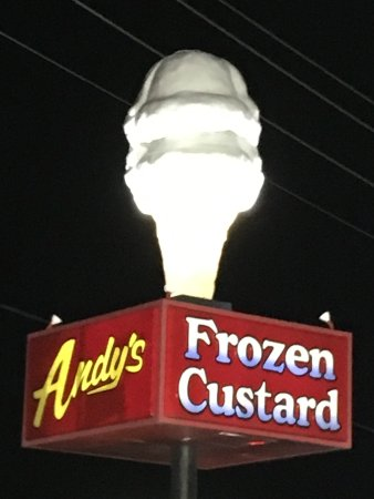 Andy's Frozen Custard : Look for the CONE