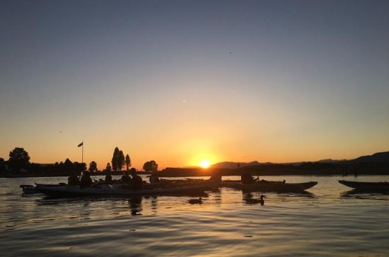 Sunset Kayaking Tour from Granville...