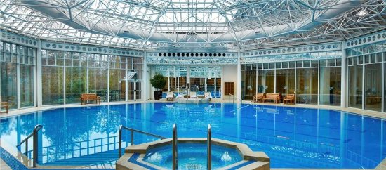 Livingwell indoor pool picture of hilton birmingham - Hotels with swimming pools in birmingham ...