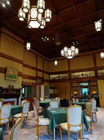 Main Dining Room Mikasa : レストラン内