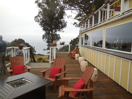 Little River, CA: Outside dining