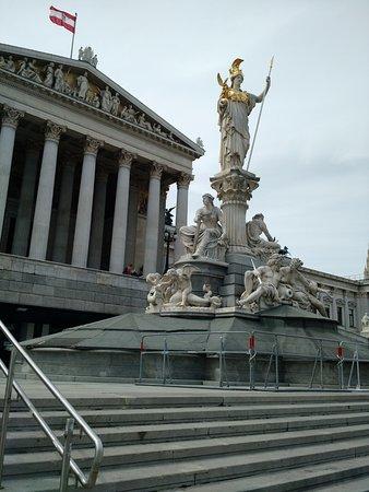 Parliament Building: Decorations around the Parliament
