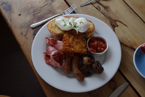 Blue Duck Cafe - Canterbury Region NZ - Full Breakfast