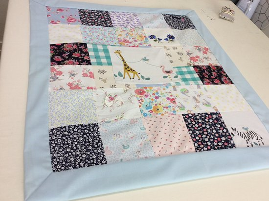 Make Your Own Memory Blanket Picture Of The Little Sewing Works