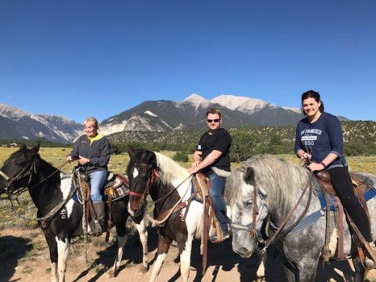 Mount Princeton Hot Springs Resort: Horseback Riding