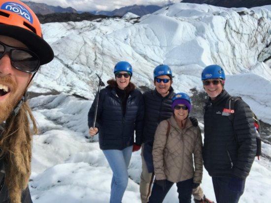 Glacier View, AK: Our afternoon on Matanuska glacier