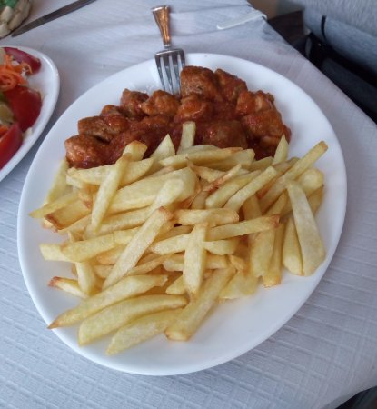 Pitres, Spain: Carne con tomate