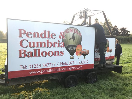 Pendle & Cumbria Balloon Flights
