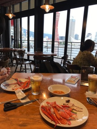 Fisherman's Market, Kobe Mosaic : Quite a good place for dinner if you are hungry, mainly the long leg crabs, seafood and other de