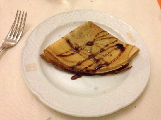 Grand Hotel Osman: la crepès sarebbe risultata meglio se condita con la nutella