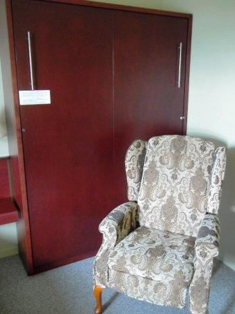 Boischatel, Canada: Bergère et lit escamotable