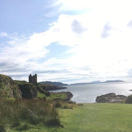 Isle of Kerrera: View of Gylen Castle