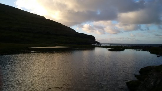 Eidi, Faroe Islands: Tramonto
