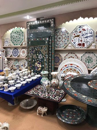 Best Place To Buy Marble Inlay Handicrafts Picture Of J K Cottage