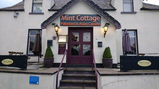 Mint Cottage: Entrance