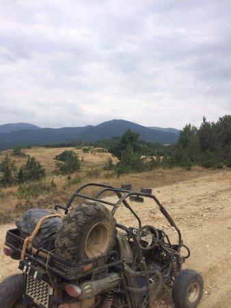 Razlog, Bulgaria: Stopping to enjoy the views!