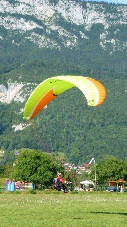 Lathuile, Francja: Atterrissage à Doussard