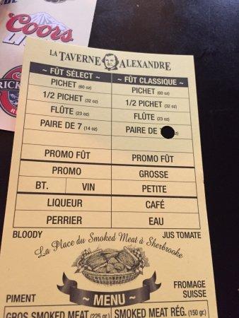 A la Taverne Alexandre
