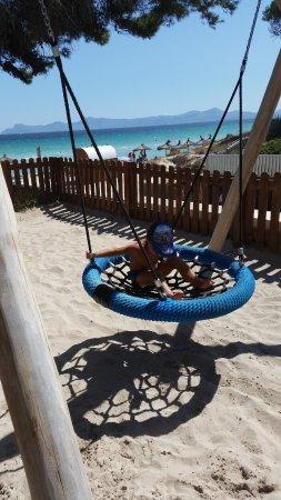 IBEROSTAR Ciudad Blanca: Area infantil a pie de playa