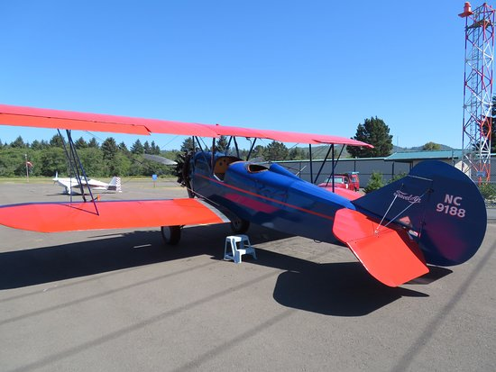 Jim's Biplane - Seaside, OR