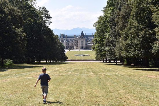 The Inn on Biltmore Estate: Scenic drive from to the Inn to hang out with Diana overlooking the Biltmore