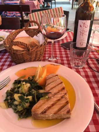 Taverna Joso: Tuna steak