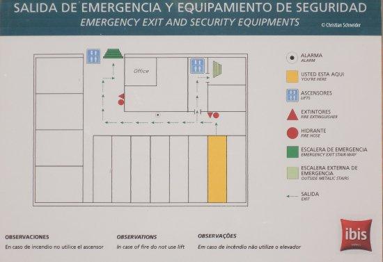 Ibis Buenos Aires Congreso: Diagrama dos quartos