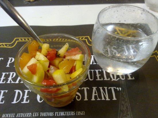 La Ravoire, France: salade de fruits
