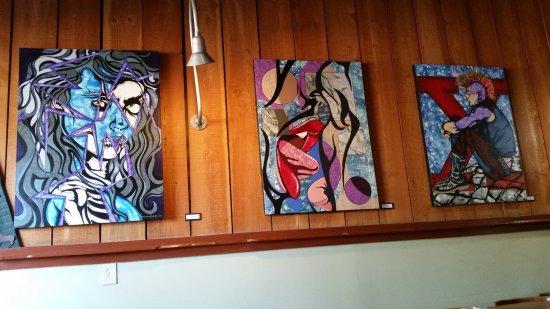 Los Alamos, CA: Wall Paintings