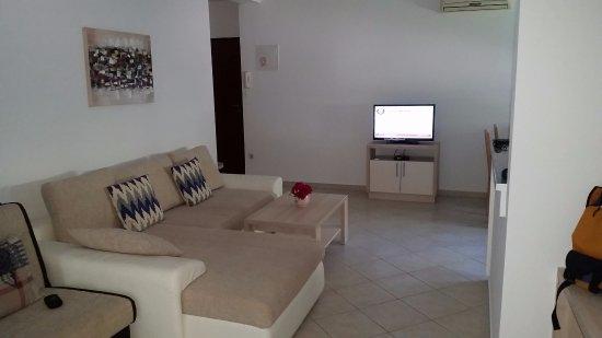 Vinkuran, Croatie: Living (appartement 2)