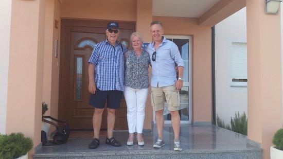 Vinkuran, Croatie: Mirko, Irma (en ik)
