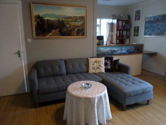 Kopavogur, Iceland: Common sitting room