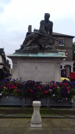 ‪Bury St Edmunds Boer War Memorial‬
