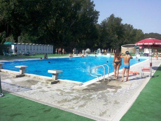 Piscina grande con acqua fredda picture of terme di cretone palombara sabina tripadvisor - Acqua orecchie piscina ...