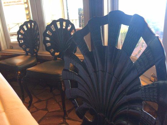Jensen Beach, FL: Inside chairs
