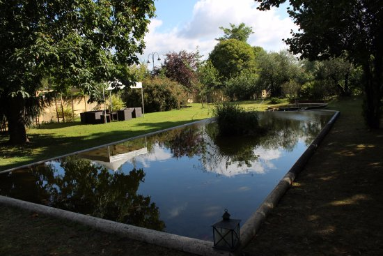Domaine de Valmont : vue sur le parc