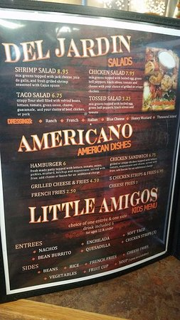 Ponca City, OK: Menu