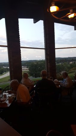 Branding Iron Supper Club: huge windows for the view