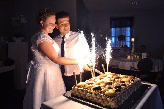 Van der Valk Hotel Brugge-Oostkamp: De fantastische taart die huisgemaakt was!
