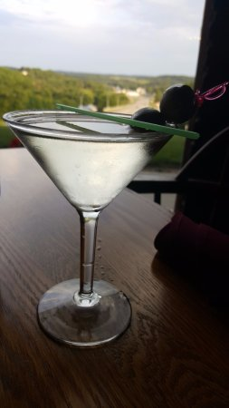Branding Iron Supper Club: my gin martini