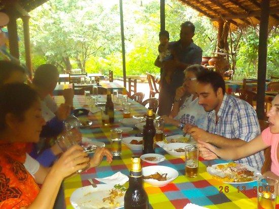 Giritale, Sri Lanka: Lunch
