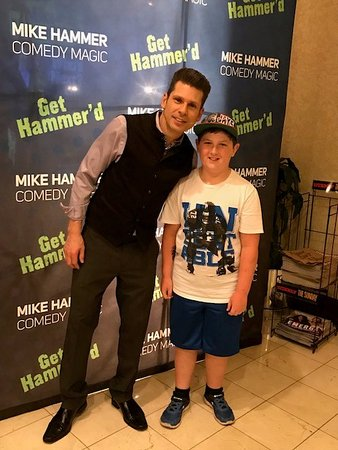 Mike Hammer - Comedy & Magic Show: my son and Mike 2017