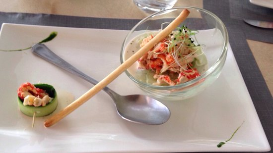 Buis-les-Baronnies, France: Concombre écrevisse, un délice !