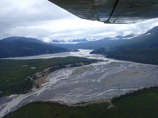 McCarthy, AK: Fantásticas vistas desde la avioneta