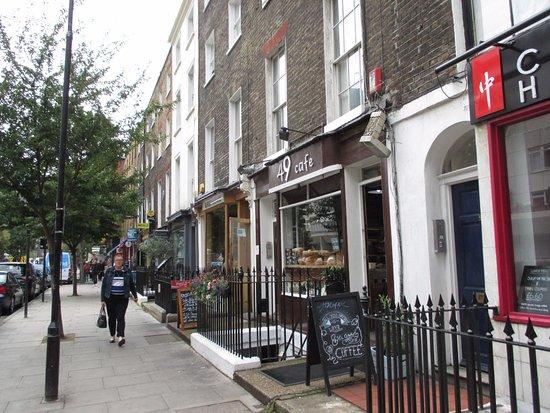 49 Cafe: London, 49 Café