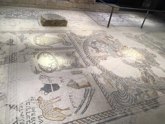 Zippori, Israel: Mosaico della basilica