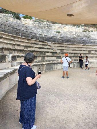 Zippori, Israel: Teatro romano