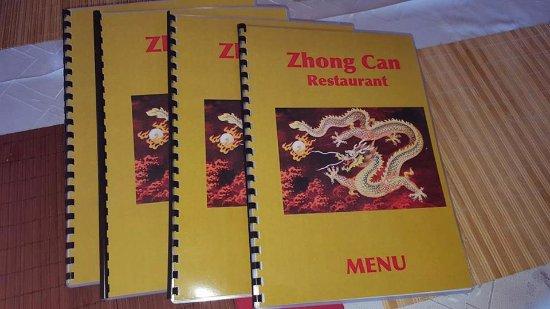 Larnaka District, Cyprus: Zhong Can Restaurant Menu
