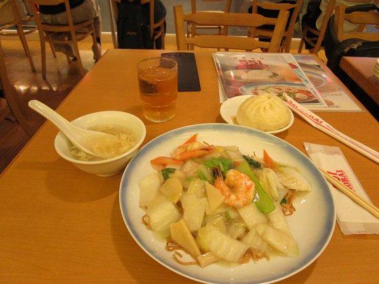 551蓬莱 関西空港店, 海鮮焼きそば