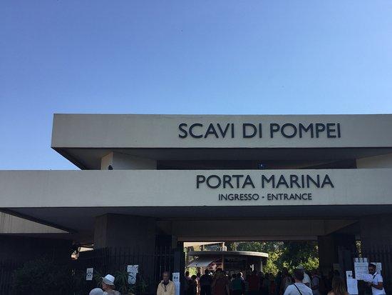 Visite Guidate Pompei: Ingresso Porta Marina